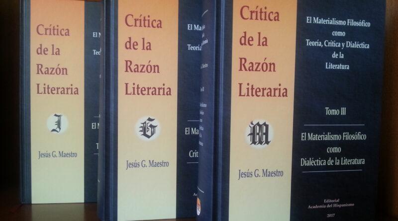6 de 11: Vídeo de la entrevista a Jesús G. Maestro. Una Teoría de la Literatura construida desde la Hispanosfera