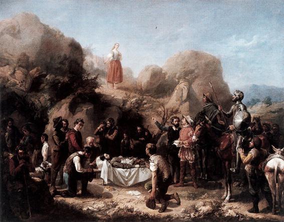Don Quijote de la Mancha. Capítulo XIIII: Canción de Grisóstomo, de Miguel de Cervantes Saavedra