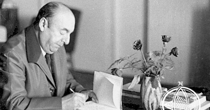 Los Mayores de la Poesía: Farewell, de Pablo Neruda (Parral, 1904-1973)