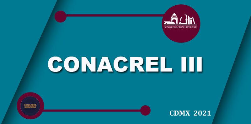 Programa general: III Congreso Nacional de Creadores Literarios (CONACREL, 2021)