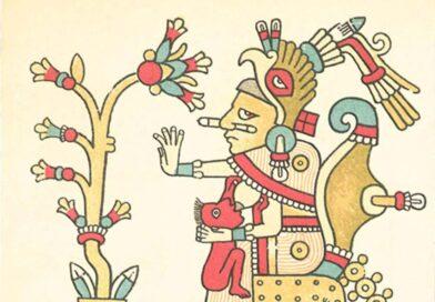 In Xóchitl in Cuícatl (1490). Diálogo de la poesía: Flor y canto. [Ms. Cantares Mexicanos, fol. 9v.- 11 v.]