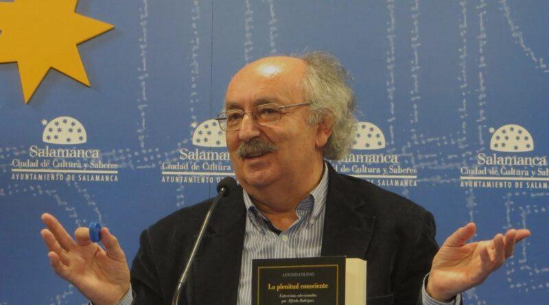 Antonio Colinas (España): Letanía del ciego que ve y otros poemas. Homenaje en Salamanca